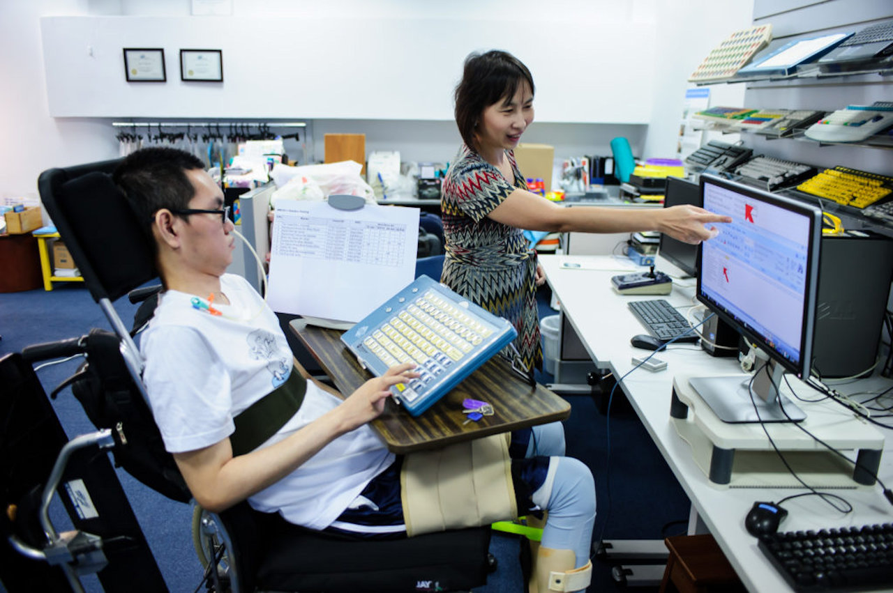 Disability no problem at office. Liveability SA.